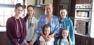 familia irlandesa ingles